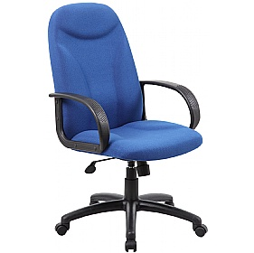 Perth Ergo Fabric Manager Chairs £77 -