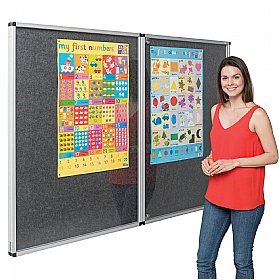 Eco-Colour Tamperproof Resist-A-Flame Noticeboards