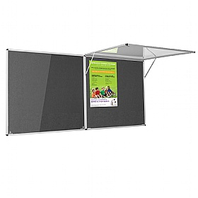 Eco-Colour Corridor Resist-A-Flame Tamperproof Noticeboards £107 -