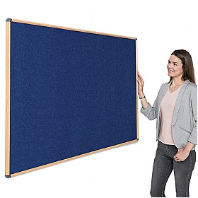 Shield Wood Effect Eco-Colour Noticeboards £60 -