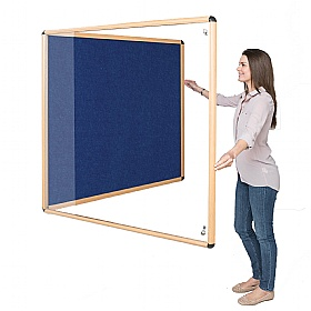 Shield Wood Effect Eco-Colour Tamperproof Noticeboards £150 -
