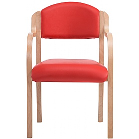 Devonshire Vinyl Stacking Armchairs