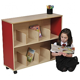 Small Children's Bookcase - Red £0 -