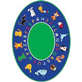 Fun With Animals Oval Rug £0 -