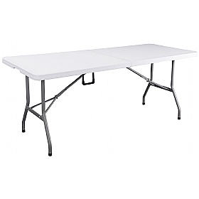 Atlantic Fold-in-Half Poly Table £0 -