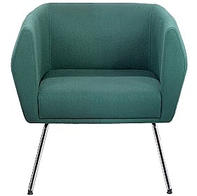 Sven HB1L 4 Leg Fabric Reception Chairs £450 -