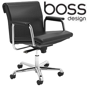 Boss Design Delphi Low Back Swivel Chair £465 -