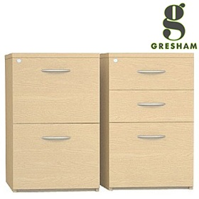 Gresham Desk High Pedestals £276 -