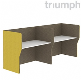 Triumph Rectangular Phonic Acoustic Side By Side 2 Person Pods £1315 -