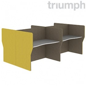 Triumph Double Wave Phonic Acoustic Back To Back 4 Person Pods £2220 -