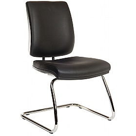 Titan 25 Stone Leather Look Visitor Chair £148 -