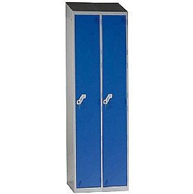 Fully Welded Narrow 1 Door Sloping Top Locker £0 -