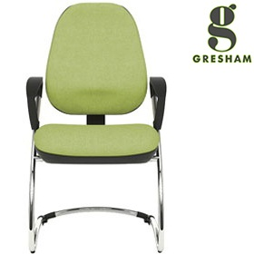 Gresham Platinum Plus Round Cantilever Chair £216 -