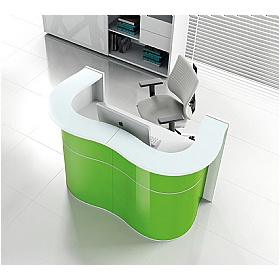 Ripple Compact Reception Desk £2140 -