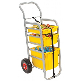 Gratnells Rover All-Terrain Trolley With Mixed Trays £0 -