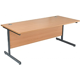 NEXT DAY Karbon K1 Rectangular Cantilever Office Desks £91 -