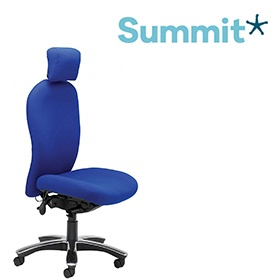 Summit Posturemax 200 Executive Bariatric Office Chair With Headrest £780 -