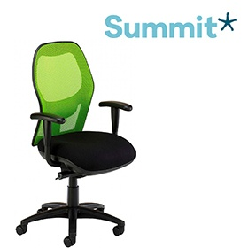 Summit Eeso Executive Mesh Back Office Chair £276 -