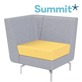 Summit Lilo Single Modular Reception Seat With Right Arm £611 -