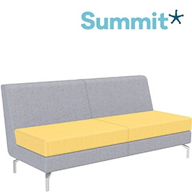 Summit Lilo Triple Modular Reception Seat With No Arms £938 -