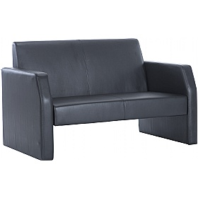Rest Bonded Leather Two Seater Sofa £155 -