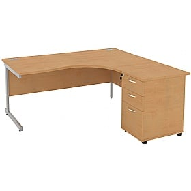 Special Offer - NEXT DAY Solar Cantilever Combi Desks £289 -