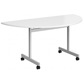 NEXT DAY Unite II Semi-Circular Flip Top Table