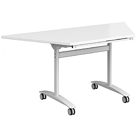 NEXT DAY Unite Plus Trapezoidal Flip Top Table £350 -