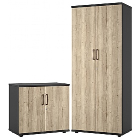 Noir Office Cupboards £172 -
