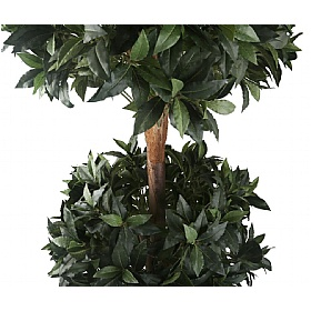 6ft Triple Ball Bay Topiary Tree