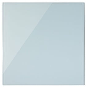 Bi-Office Glass Memo Tile Board