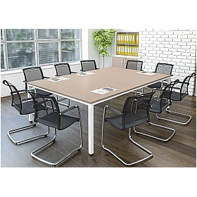 Presence Rectangular Meeting Tables 1000D