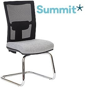 Summit Sensit-Air Lite Mesh Back Cantilever Visitor Chair £209 -