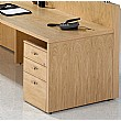 Fulcrum Professional Veneer Under Desk Pedestals
