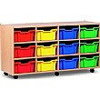 12 Tray Deep Mobile Storage