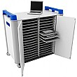 LapCabby 32H - 32 Horizontal Laptop Store and Charging Trolley