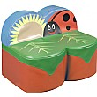 Back To Nature Ladybird Sofa 2 Seat