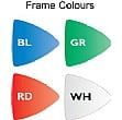 Resist-a-Flame Coloured Frame Shield Showline