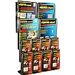 12 Pocket A4 & Third A4 Leaflet Dispenser
