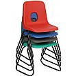 E-Series Skid Base Polypropylene Chairs