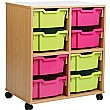 Storage Allsorts 8 Deep Tray Unit
