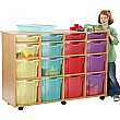 16 Tray Variety Jelly Bean Mobile Storage