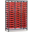 Gratnells 3 Column Midi 39 Tray Storage Rack