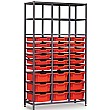 Gratnells 3 Column High 27 Tray Storage Rack