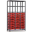 Gratnells 3 Column High 30 Tray Storage Rack