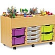 Art Storage 8 Tray Kinderbox Unit