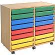 16 Tray A3 Paper Art Storage Unit