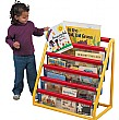 5 Pocket Book Display Unit