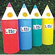 Pencil Litter Bin Packs