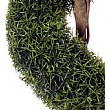 5ft 6in Spiral Grass Topiary Close Up